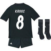 Real Madrid Away Kids Kit 2018-19 with Kroos 8 printing