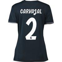 Real Madrid Away Shirt 2018-19 - Womens with Carvajal 2 printing