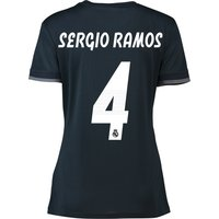 Real Madrid Away Shirt 2018-19 - Womens with Sergio Ramos 4 printing