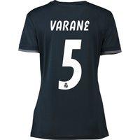 Real Madrid Away Shirt 2018-19 - Womens with Varane 5 printing