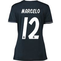 Real Madrid Away Shirt 2018-19 - Womens with Marcelo 12 printing