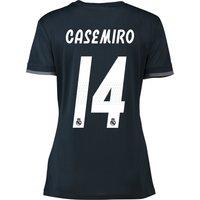 Real Madrid Away Shirt 2018-19 - Womens with Casemiro 14 printing