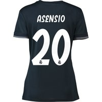 Real Madrid Away Shirt 2018-19 - Womens with Asensio 20 printing