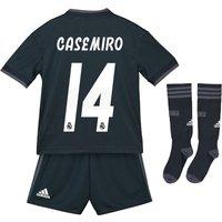Real Madrid Away Mini Kit 2018-19 with Casemiro 14 printing