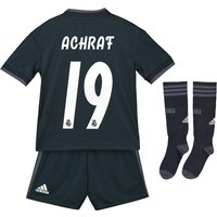 Real Madrid Away Mini Kit 2018-19 with Achraf 19 printing