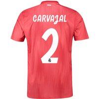 Real Madrid Third Shirt 2018-19 with Carvajal 2 printing