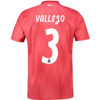 Real Madrid Third Shirt 2018-19 with Vallejo 3 printing