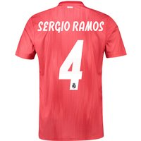Real Madrid Third Shirt 2018-19 with Sergio Ramos 4 printing