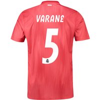 Real Madrid Third Shirt 2018-19 with Varane 5 printing