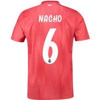 Real Madrid Third Shirt 2018-19 with Nacho 6 printing