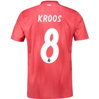 Real Madrid Third Shirt 2018-19 with Kroos 8 printing