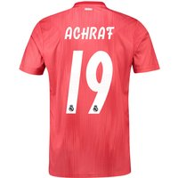 Real Madrid Third Shirt 2018-19 with Achraf 19 printing