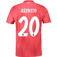 Real Madrid Third Shirt 2018-19 with Asensio 20 printing
