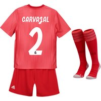 Real Madrid Third Kids Kit 2018-19 with Carvajal 2 printing