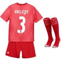 Real Madrid Third Kids Kit 2018-19 with Vallejo 3 printing