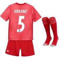 Real Madrid Third Kids Kit 2018-19 with Varane 5 printing