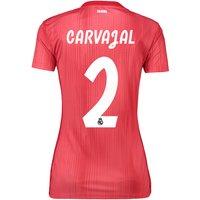 Real Madrid Third Shirt 2018-19 - Womens with Carvajal 2 printing