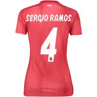 Real Madrid Third Shirt 2018-19 - Womens with Sergio Ramos 4 printing