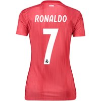Real Madrid Third Shirt 2018-19 - Womens with Ronaldo 7 printing