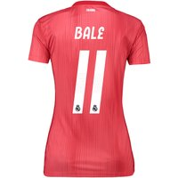 Real Madrid Third Shirt 2018-19 - Womens with Bale 11 printing
