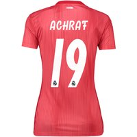 Real Madrid Third Shirt 2018-19 - Womens with Achraf 19 printing