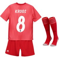 Real Madrid Third Mini Kit 2018-19 with Kroos 8 printing
