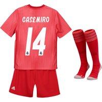 Real Madrid Third Mini Kit 2018-19 with Casemiro 14 printing