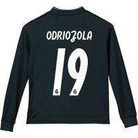 Real Madrid Away Shirt 2018-19 - Long Sleeve - Kids with Odriozola 19 printing