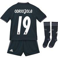 Real Madrid Away Mini Kit 2018-19 with Odriozola 19 printing