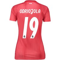 Real Madrid Third Shirt 2018-19 - Womens with Odriozola 19 printing