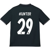 Real Madrid Away Shirt 2018-19 - Kids with Hunter 29 printing