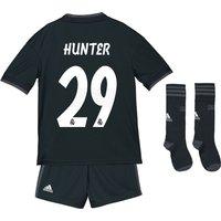 Real Madrid Away Kids Kit 2018-19 with Hunter 29 printing