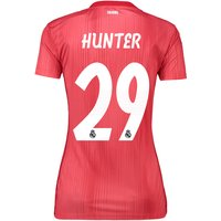 Real Madrid Third Shirt 2018-19 - Womens with Hunter 29 printing