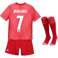 Real Madrid Third Kids Kit 2018-19 with Mariano  7 printing