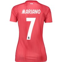 Real Madrid Third Shirt 2018-19 - Womens with Mariano  7 printing