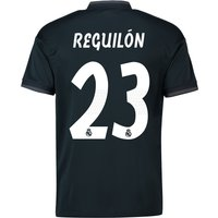 Real Madrid Away Shirt 2018-19 with Reguilón 23 printing