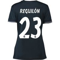 Real Madrid Away Shirt 2018-19 - Womens with Reguilón 23 printing