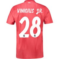 Real Madrid Third Shirt 2018-19 with Vinicius JR. 28 printing