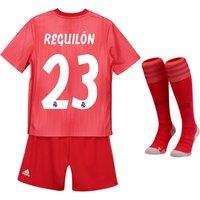 Real Madrid Third Mini Kit 2018-19 with Reguilón 23 printing
