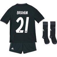 Real Madrid Away Kids Kit 2018-19 with Brahim 21 printing
