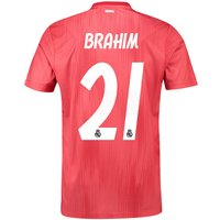 Real Madrid Third Shirt 2018-19 with Brahim 21 printing
