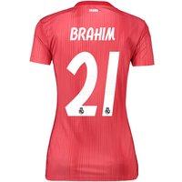 Real Madrid Third Shirt 2018-19 - Womens with Brahim 21 printing