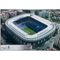 Real Madrid Stadium Desk Mat - 34.5cm x 49.5cm