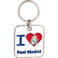 Real Madrid I Love Keyring