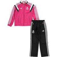 Real Madrid Presentation Suit - Kids Pink