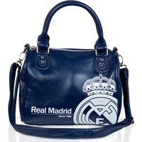 Real Madrid Mini Holdall Bag - Blue/Silver