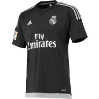 Real Madrid Home Goalkeeper Shirt 2015/16 - Black