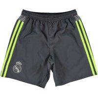 Real Madrid Away Shorts 2015/16 - Kids - Dk Grey