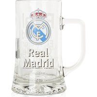 Real Madrid The Best 20th Century Football Club Glass Pint Tankard