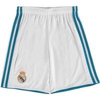 Real Madrid Home Shorts 2017-18 - Kids